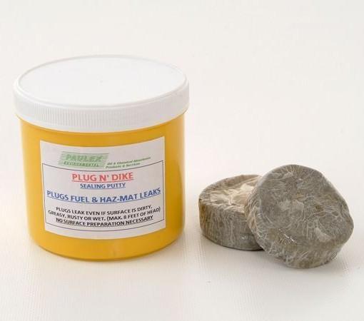 Leak Sealing Putty : Plug n dyke sealing putty g packet paulex